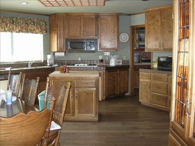 Family style kitchen with all the amenities