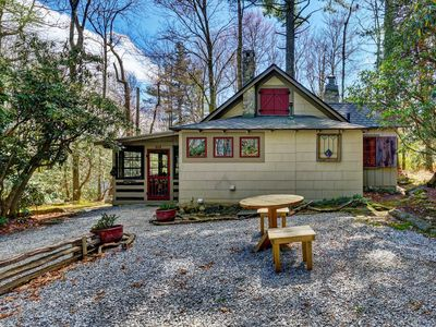 Photo for New Property! Rockwall, A Highlands1924 cabin,  Situated in the midst of National Forest!