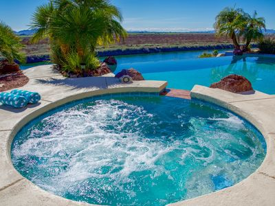 Photo for River front beauty with pool