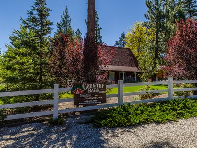 Photo for 3 Acre Country Barn Estate and Crafters Retreat Sleeps 20