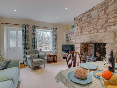 Photo for Two-bedroom self-catering accommodation tucked away in a quiet corner of Hay-on-Wye, a beautiful and