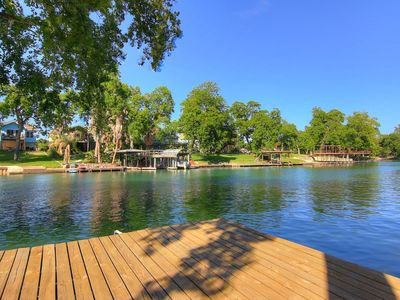 Guadalupe Riverfront, Kayaks,lots of deck space! 2 miles to Comal!
