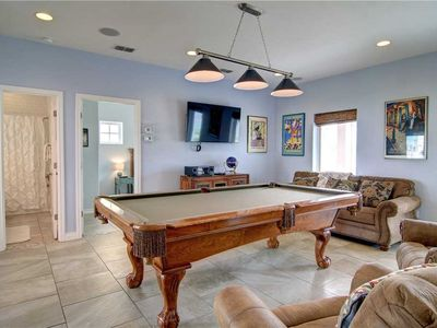 Photo for Beachside-Ocean Views! Pool table and Pool! Boardwalk to BEACH