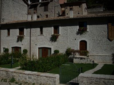 Photo for Holiday House ITerzieri in the historic village of Ferentillo: Apartment Matterella
