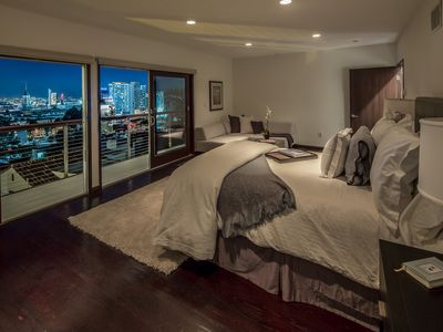 Photo for High-end Hotel Quality Home With Mint Suite Views Overlooking West Hollywood!