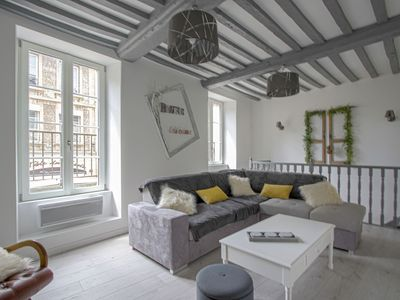 Photo for Large and beautiful apartment in the heart of Bayeux