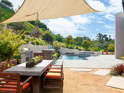 Photo for Luxury Point Loma Oasis w/ Resort-Style Pool, Spa, Outdoor Kitchen & Fire Pit