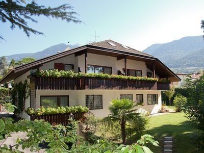 Photo for Modern apartments in the center of Merano - very quiet location in the residential area