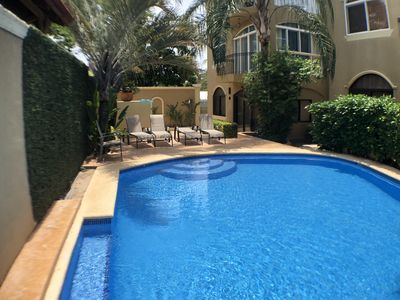 Photo for Wonderful 2BR condo in a small complex - just a minute's walk to the beach