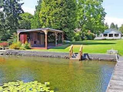 Photo for Cozy Lakeside Home Near Seattle and Airport