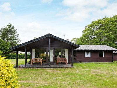 Photo for Beautiful Holiday Home in Allingåbro with Terrace