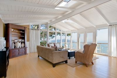 Enjoy incredible, sweeping views of San Francisco's Bay from the living Room.