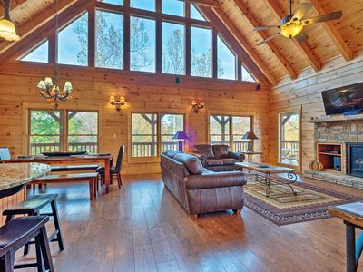 Photo for Pigeon Forge Area Cabin w/Mountain Views & Hot Tub