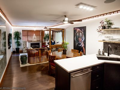 Photo for Luxury 3 bdrm condo at the base of Blackcomb with a warm balinese flare