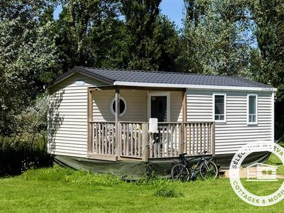Photo for Camping Domaine de Mesqueau *** - Maeva Camping - Mobile Home 3 Rooms 4 People