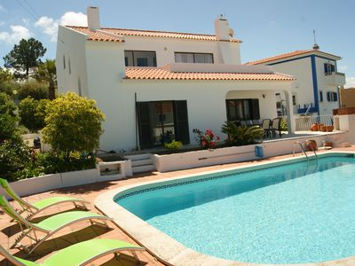 Photo for 4 Bedroom Villa with private pool and views of Obidos lagoon and the ocean