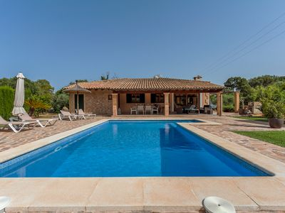 Photo for Quiet villa with private pool near to Pollensa .  WI-FI .Balinese bed.