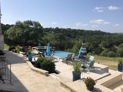 Photo for Gorgeous 4900 square foot pool & spa home minutes from Lake Travis and winery