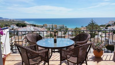 Photo for Breathtaking Sea View Townhouse, Punta Lara, Nerja