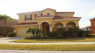 Photo for Enjoy Orlando With Us - Solterra Resort - Welcome To Relaxing 5 Beds 4.5 Baths  Pool Villa - 7 Miles To Disney