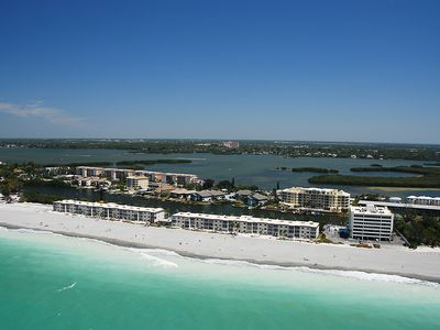 Photo for Siesta Key - Beachfront Condo - 2 BR – Free Boat Docks - Turtle Beach