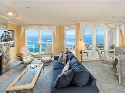 Photo for Spectacular 3Bdrm Corner Unit w/ Oceanfront Views Galore & Whale Watching