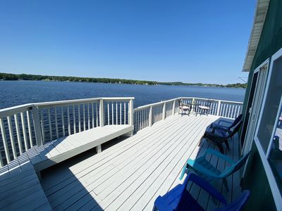 Photo for Vacation Haven Pentwater Lake Cottage