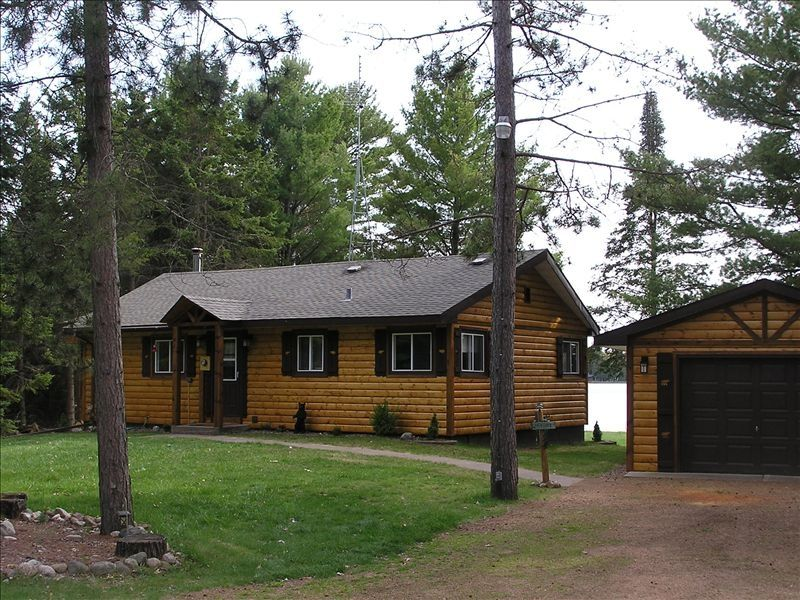 Lost Paradise St. Germain, Wisconsin. Rent This Adorable Log Cabin