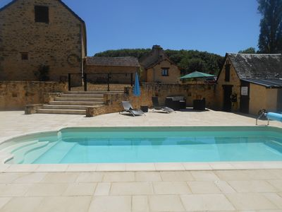 Photo for Sarlat NEAR PROPERTY STONE CONDITIONING WITH HEATED POOL