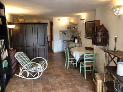 Photo for Apartment house on the edge of the medieval Castagneto Carducci studio Felice