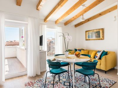 Photo for Magic terrace apartment among the old rooftops, next to Diocletian's Palace