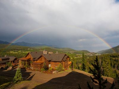 Photo for Moonlight Magic! Best Views In Big Sky! Luxury Ski-in/Out!