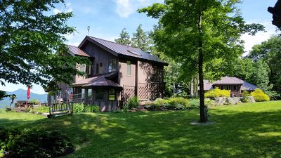 Photo for 2 homes, luxury and serenity close to Vt's premier skiing, hiking & gourmet food