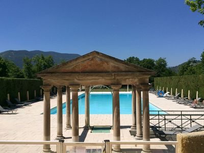 Photo for A beautiful 2 persons studio in a chateau with swimming pool.
