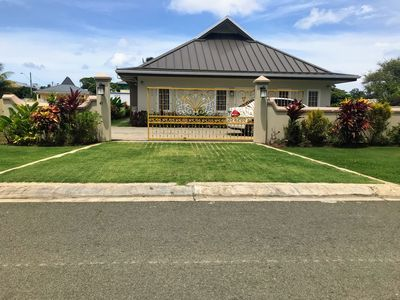 Photo for Sunflower Villa 🌻 Secured! FULLY AIRCONDITIONED,  Bonus Outdoor Kitchen