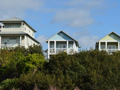 Photo for Beautiful Gulf View 3 bedroom Cottage near Camp Creek!