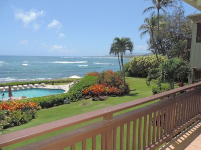 Stunning view of Papaloa Bay right from your lanai.