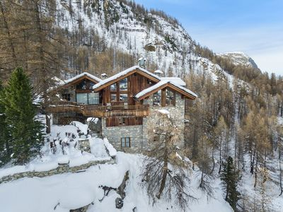 Photo for chalet Le Nid d'Aigle -620m2 - 13pers 7ch - swimming pool / hammam / jacuzzi / sauna