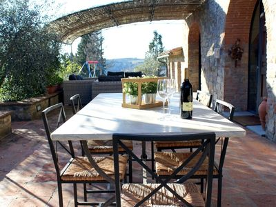 Photo for 3BR Villa Vacation Rental in Barberino Val D'elsa, Toscana