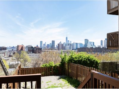 Photo for The Villa with views of NYC from your private deck.