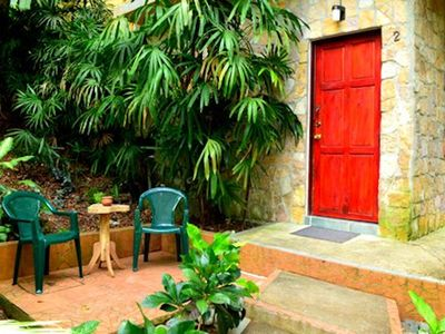 Photo for Spacious 1 Bed Jungle Villa With Refreshing Pool & Tropical Gardens!