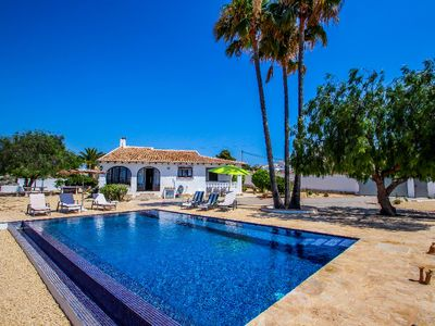 Photo for Canto de Hada - well furnished villa with panoramic views in Moraira