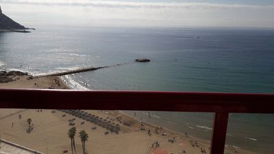 Photo for Apartment sea view, pool, parking, air conditioning, wifi, Residence AMATISTA 115C