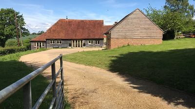 Photo for Beautiful Sussex Barn in the vale of Ashburnham sleeps 10