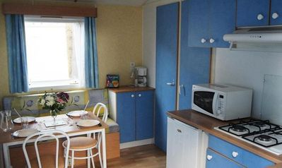 Photo for Camping L'Etang du Pays Blanc *** - Mobile home 3 Rooms 4 People