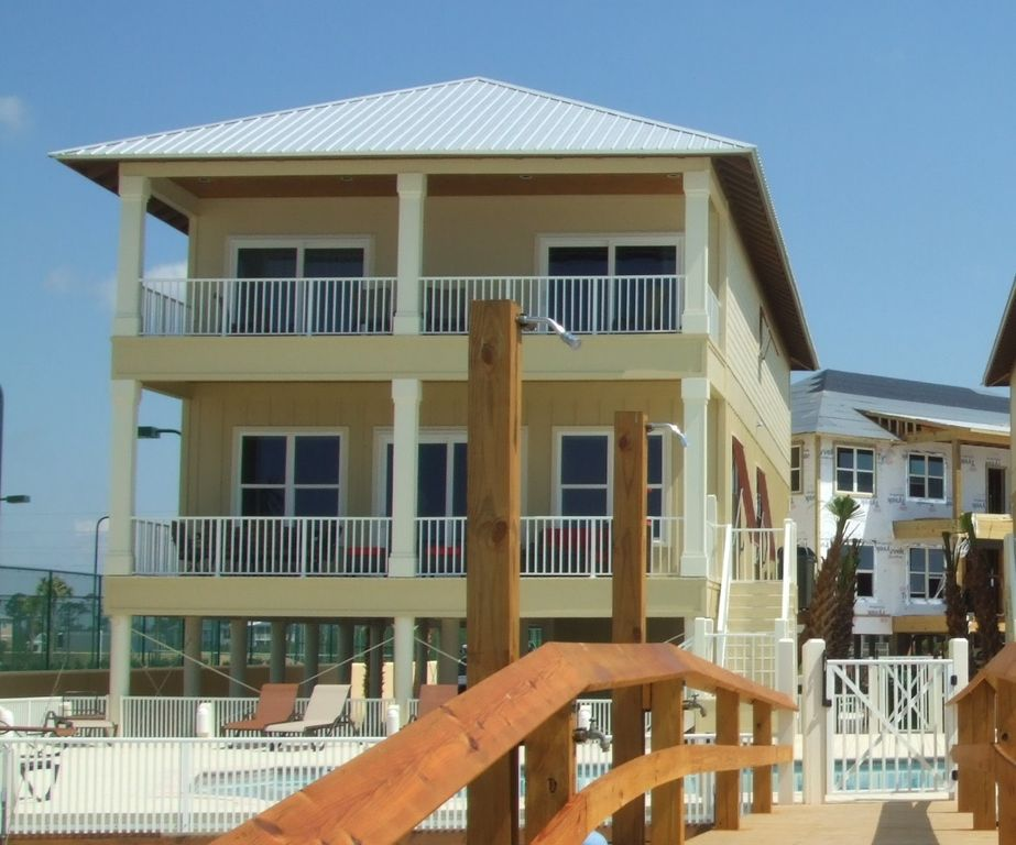 Orange Beach Holiday House Summer Salt West Direct Gulf Front