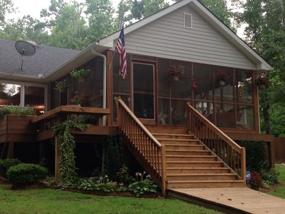 Photo for Not A Rental But A Warm, Cozy Beautiful Lakefront Home!!! Friendly Service!!!