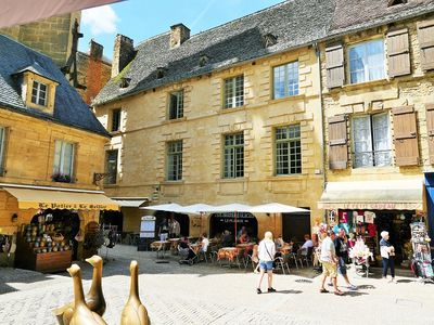Photo for Les Trois Oies: 2 people, in a typical building,well located inside the medieval town