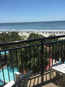 Photo for Stylish, clean, comfortable oceanfront condo:5 heated pools/river run/4 hot tubs