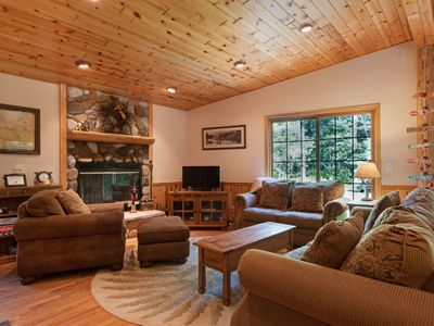 Photo for Rustic home with spacious yard and waterfront access